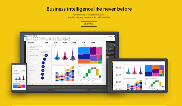 PowerBI home